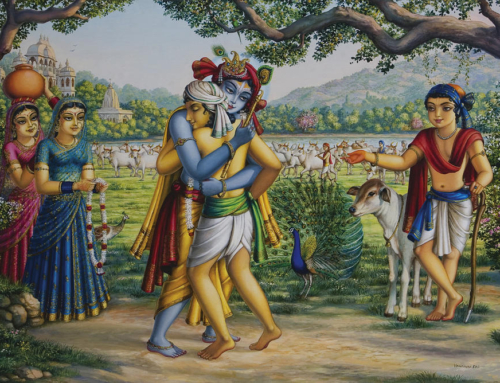 Thinking of Krishna